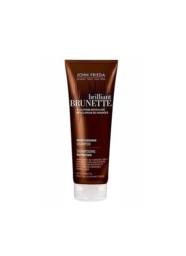 John Frieda Brillant Brunette Colour Protecting Shampoo 250 ML - Kahverengi Saç Renk Koruyucu Nemlendirici Şampuan Renksiz